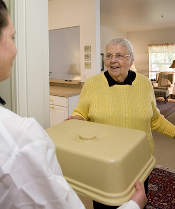 Residents can receive meal service right to their apartment!